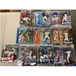 10 X NEW IN BOX MCFARLANE MLB FIGURINES