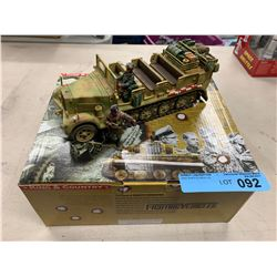 KING & COUNTRY FIGHTING VEHICLES HALF TRACK
