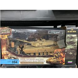 FORCES OF VALOR DIECAST METAL M1A1 ABRAMS TANK