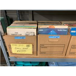5 X BOXES OF RECORDS