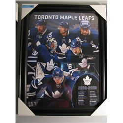 FRAMED TORONTO MAPLE LEAFS 18/19 PLAYER COLLAGE