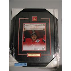 SIGNED/FRAMED TEAM CANADA RYAN SMITH