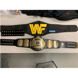 WWF WORLD HEAVY WEIGHT CHAMPIONSHIP BELT