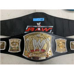 WWE CHAMPIONSHIP SPINNER BELT
