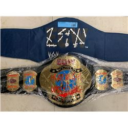 ECW WORLD HEAVYWEIGHT CHAMPIONSHIP BELT