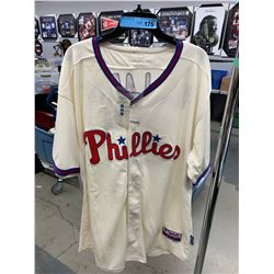 NEW PHILLIES HALLADAY MAJESTIC JERSEY