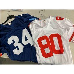 2 X NFL PRACTICE JERSEYS
