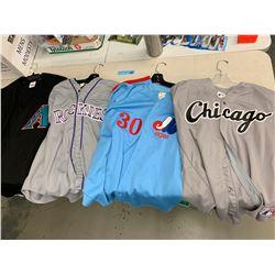 4 X MLB JERSEYS