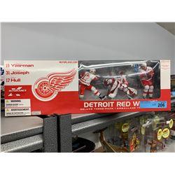 DETROIT RED WINGS 3 PACK MACFARLANE NHL FIGURINES