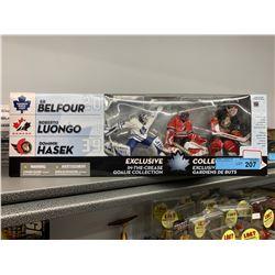 3 PACK MACFARLANE NHL GOALIES FIGURINES