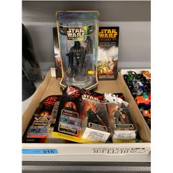 TRAY LOT OF STAR WARS TOYS