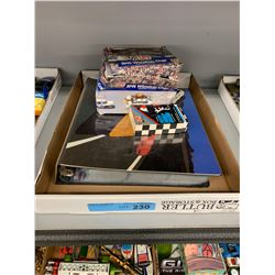 TRAY LOT OF NASCAR COLLECTIBLE CARDS