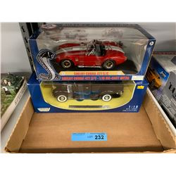 TRAY LOT OF DIE CAST CARS