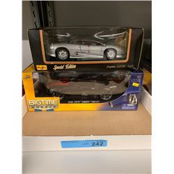 2 X DIE CAST CAR MODELS