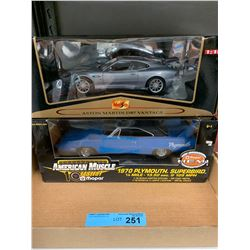 2 X DIE CAST CARS