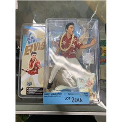 MCFARLANE BLUE HAWAII ELVIS FIGURINE