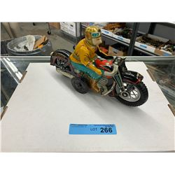 VINTAGE I.Y. METAL MOTORCYCLE TOY