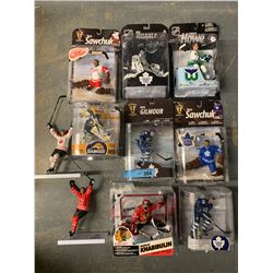 LOT OF 10 X MACFARLANE NHL FIGURINES