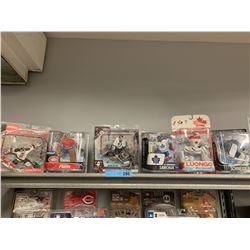 LOT 6 X MACFARLANE NHL GOALIE FIGURINES