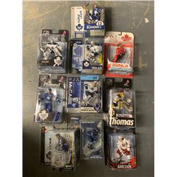LOT OF 10 X MACFARLANE NHL PLAYER FIGURINES