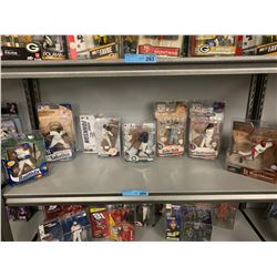 7 X MLB PLAYER MACFARLANE FIGURINES