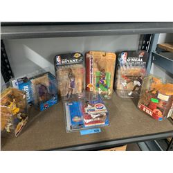7 X NBA MACFARLANE PLAYER FIGURINES