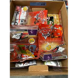 "BOX LOT OF 16 ""CARS"" PACKAGED TOYS"