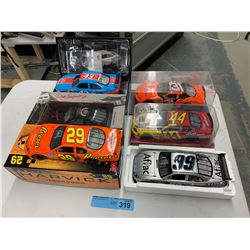 6 X DIE CAST NASCAR CARS