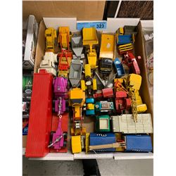 TRAY LOT OF DIE CAST CAR TOYS