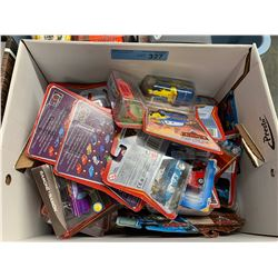 "BOX LOT OF ""CARS"" TOYS"