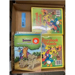 TRAY LOT OF LITTLE GOLDEN BOOK BOOKS