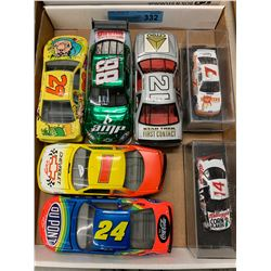 TRAY LOT OF DIE CAST NASCAR MODELS