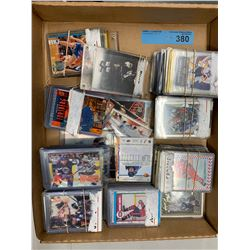 TRAY LOT OF COLLECTIBLE ASST HOCKEY CARDS