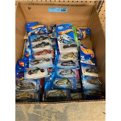 TRAY LOT OF 46 X HOT WHEELS TOY CARS