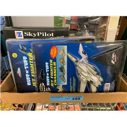 TRAY LOT OF ASST AIRPLANES AND HELICOPTER TOYS