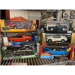 6 X DIE CAST CAR MODELS
