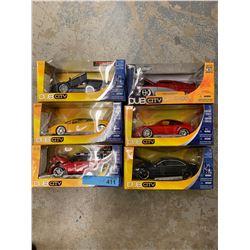 6 X DUBCITY DIE CAST CAR MODELS