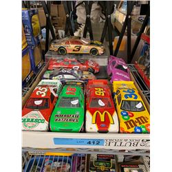 TRAY LOT OF HIGHLY COLLECTIBLE NASCAR DIECAST CARS