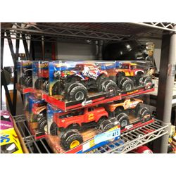 12 X HOT WHEELS MONSTER TRUCK TOYS