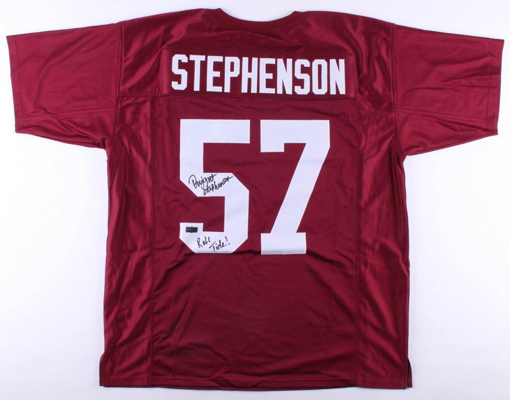 wholesale dealer 4a9e0 f6f51 Dwight Stephenson Signed Alabama Crimson Tide Jersey ...