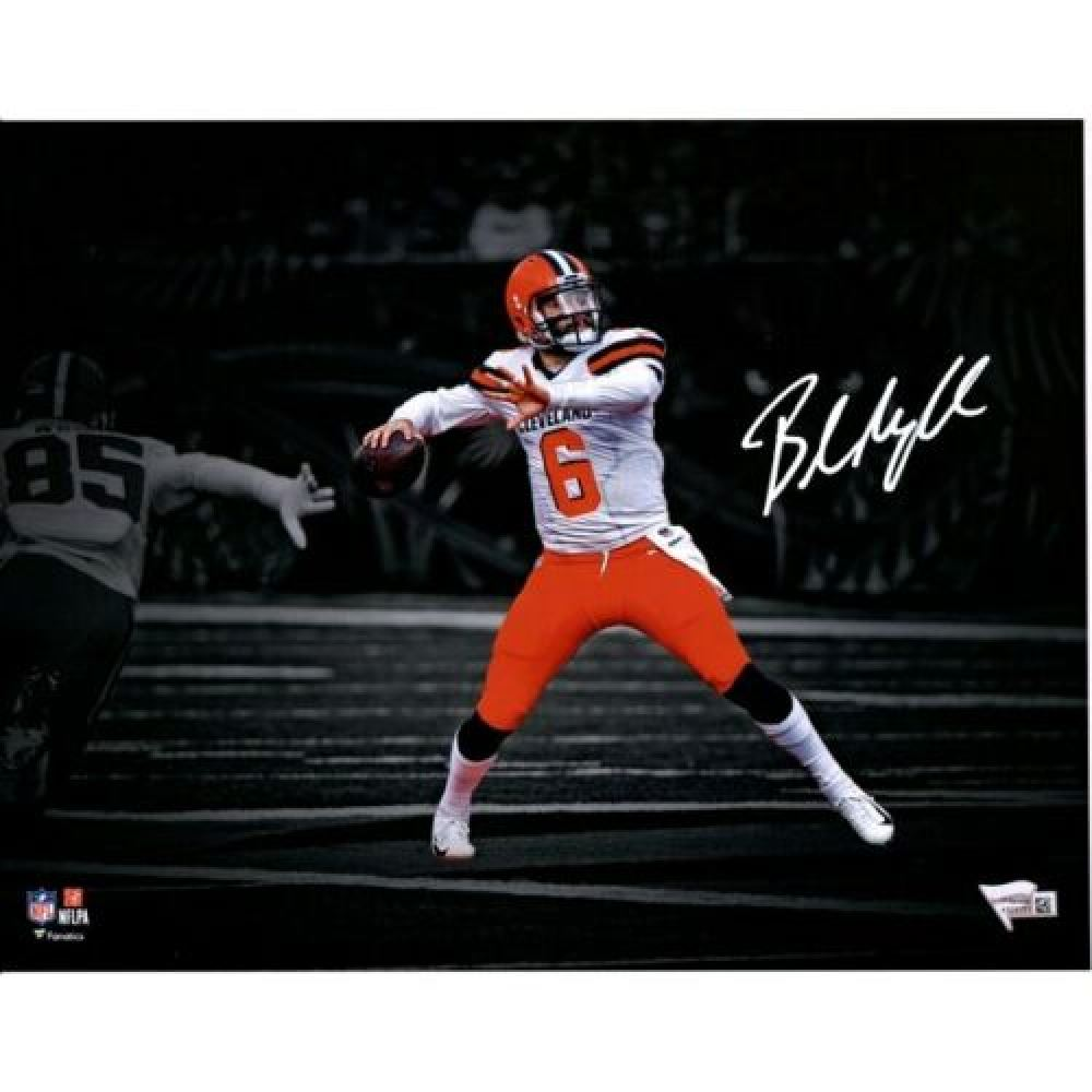 5d634fb4 Baker Mayfield Signed Cleveland Browns