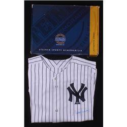 new style 0ca54 5341e Derek Jeter Signed New York Yankees Jersey (Steiner COA ...