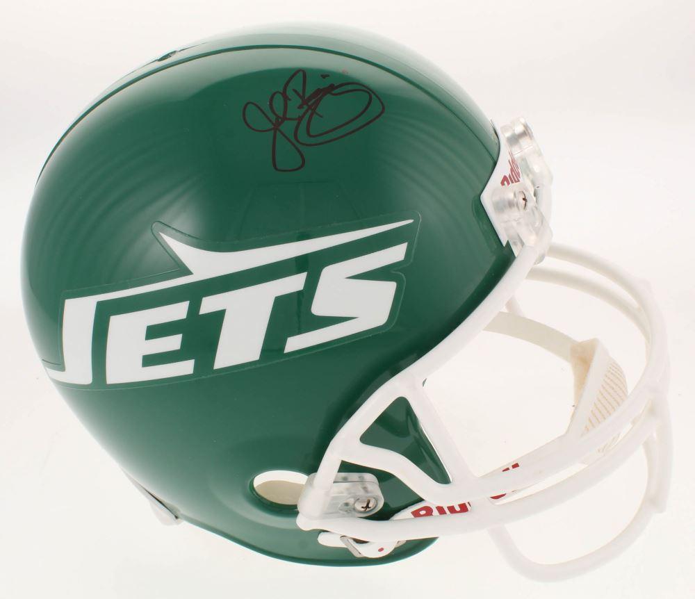 huge selection of 2b90e 4be75 John Riggins Signed New York Jets Throwback Full-Size ...