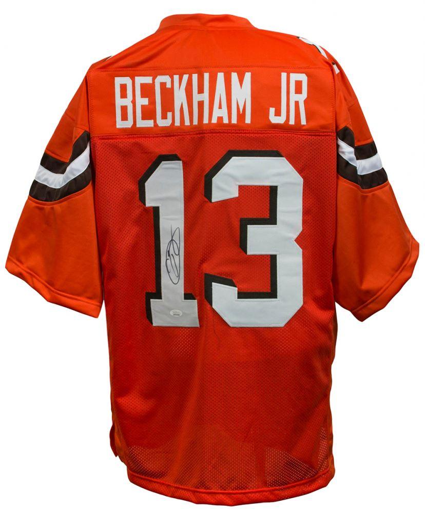 huge discount 83fd7 eec63 Odell Beckham Jr. Signed Cleveland Browns Jersey (JSA COA)