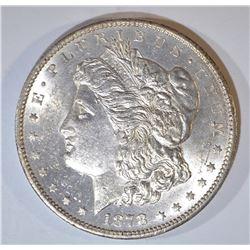 1878-CC MORGAN DOLLAR, BU