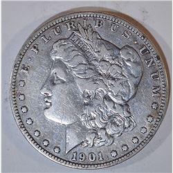 1901-S MORGAN DOLLAR VF