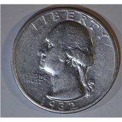 1932-S WASHINGTON QUARTER  VF