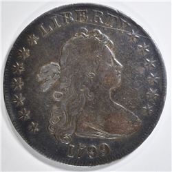 1799 BUST DOLLAR  VF  SCRATCH OBV
