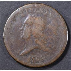 1793 HALF CENT VG
