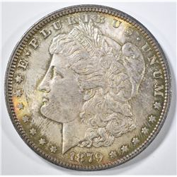 1879 MORGAN DOLLAR CH BU GREAT COLOR